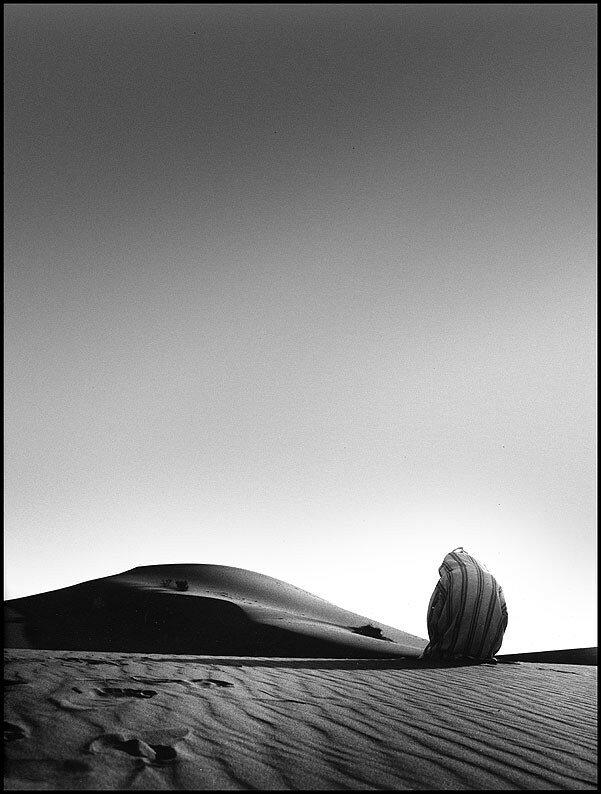 philippe morel: vraie dune et faux bédouin (Duduche)