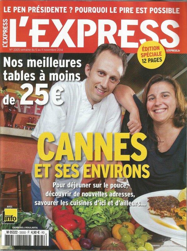 l'express novembre 2014 couverture
