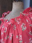 Robe ALBANE en coton rouge à coquelicots (7)