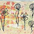 Fleurs stylisées 1-001