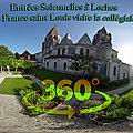Entrées solennelles à loches - 1261, le roi de france saint louis visite la collégiale saint-ours.