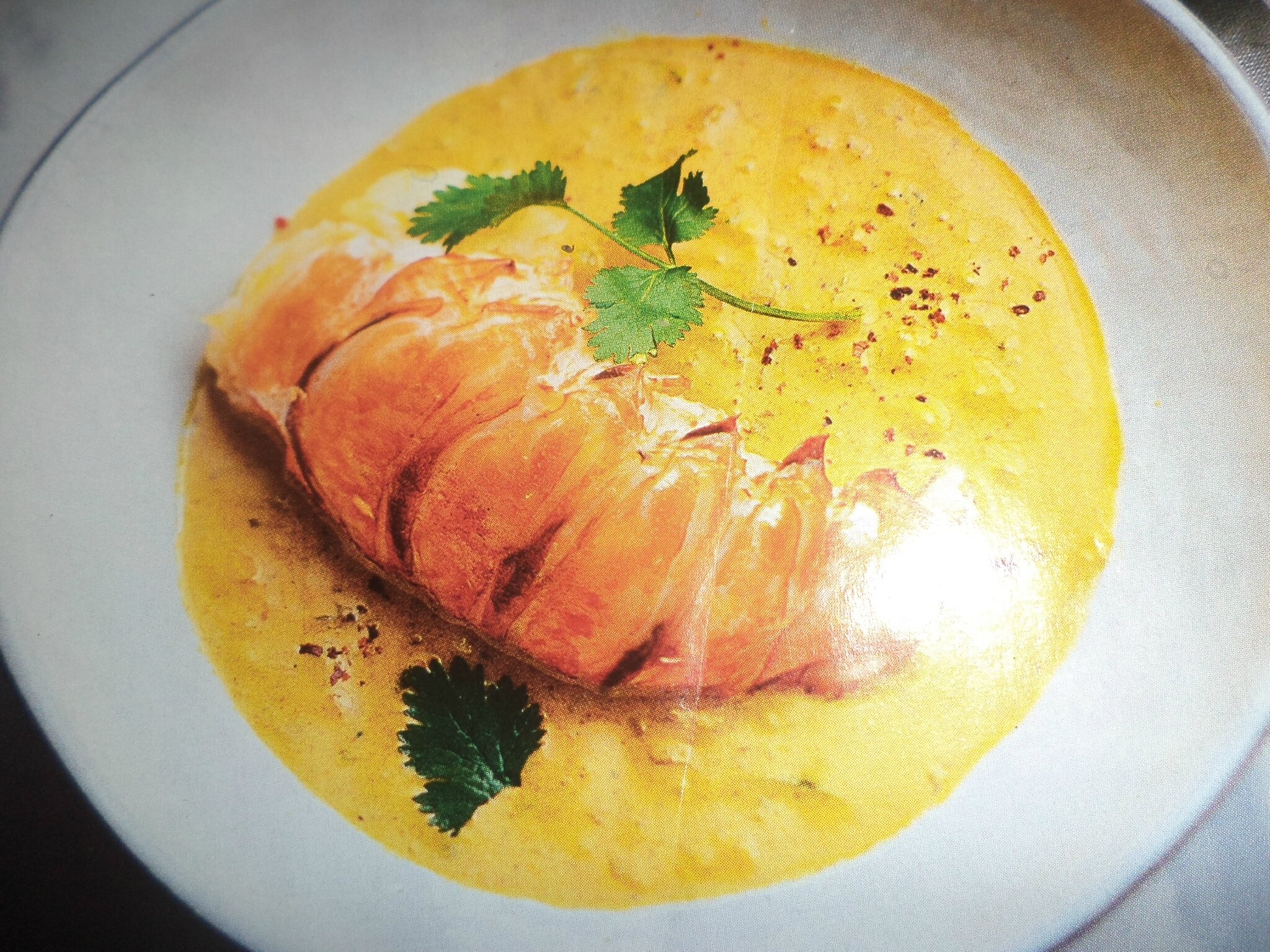 Curry de langouste