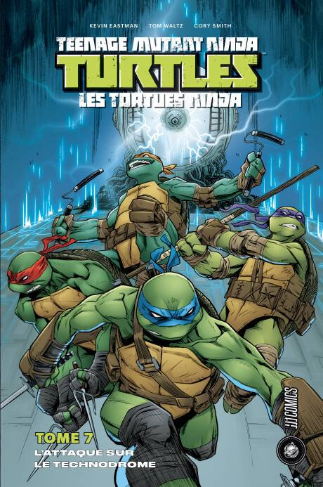 hicomics tortues ninja 07 l'attaque sur le technodrome