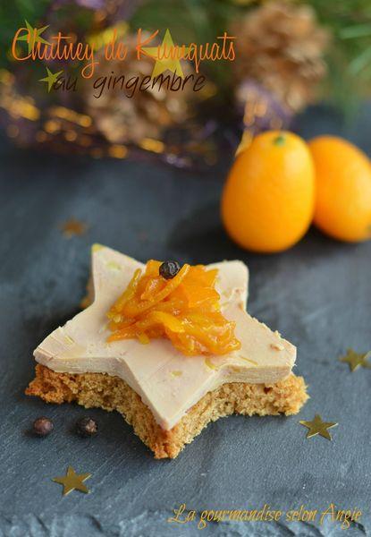 chutney kumquats accompagnement foie gras gingembre