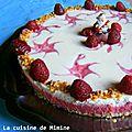 Trianon framboises–chocolat blanc