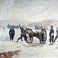 chartier (Henri), soldats français au canon (1896)