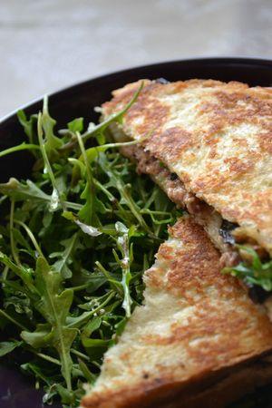 Croques monsieur au foie gras (3)