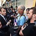 Macron: vers l'obligation de porter un costard?