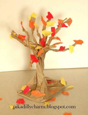 Paper Bag Fall Tree1