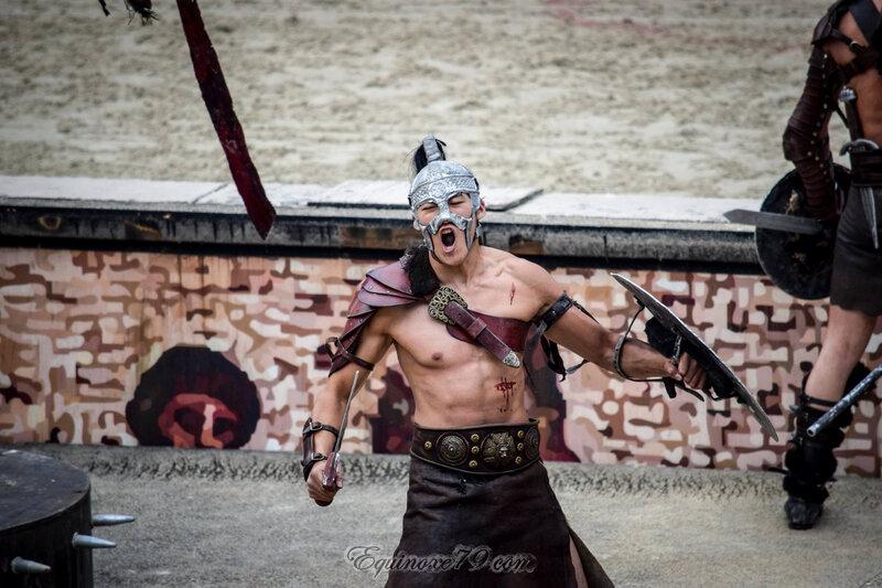 Jeux du cirque Les combats de gladiateurs (Puy du Fou) (3)