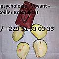 Parapsychologie - voyant - conseiller maître bababedji tel/ +229 51 33 03 33