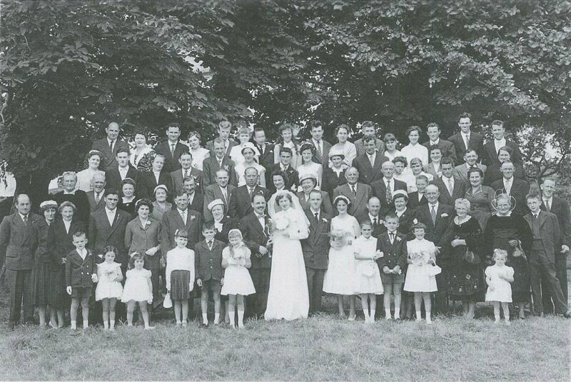 Mariage vers 1956