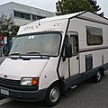 Ford transit camping car rimor grosso 100