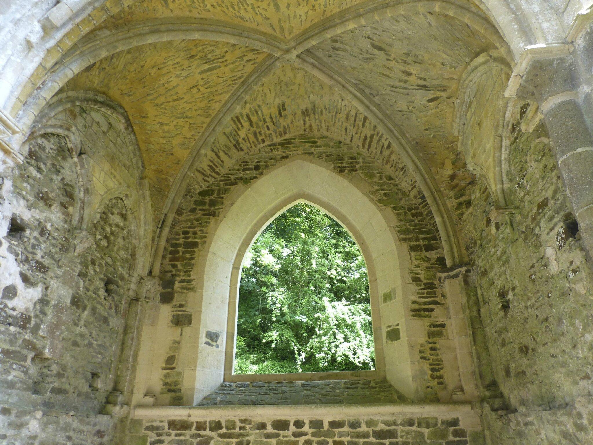 balade à cheval médiévale - Abbaye de Hambye (205)