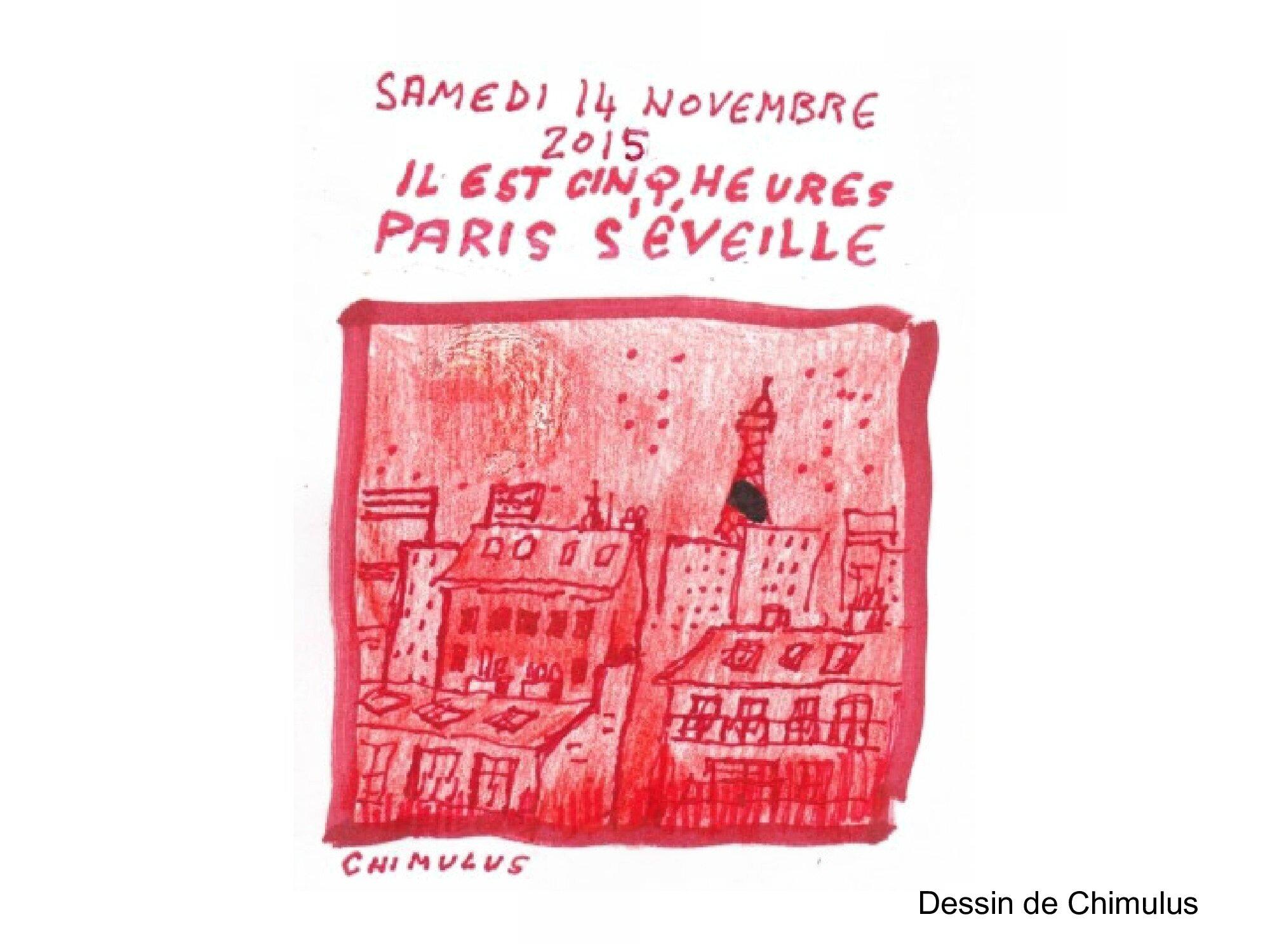 HOMMAGE des dessinateurs aux victimes des attentats de Paris 13 novembre 2015 (1)