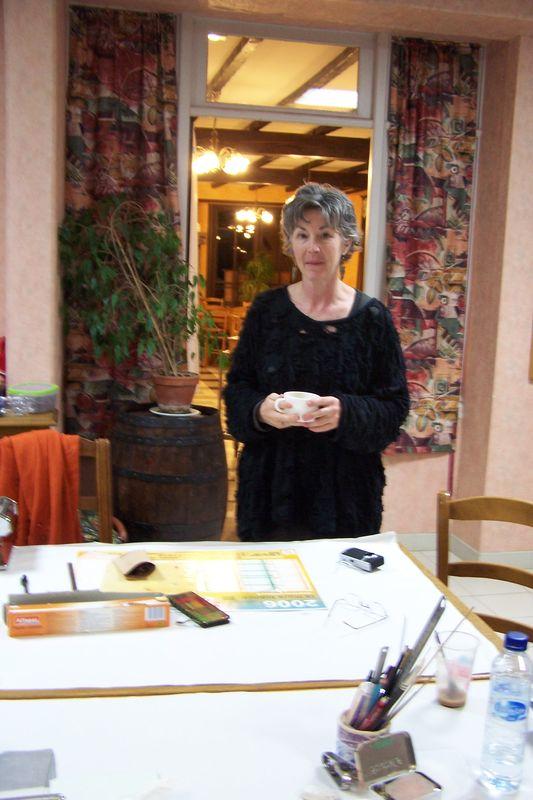 Sandra McCaw (stage à Armeau, Yonne, Novembre 2009)