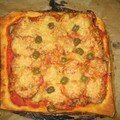 Pizza alsacienne
