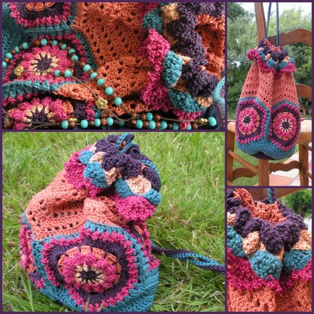Bohemian Granny Bag #2
