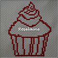 Roselaine271 cupcake broderie