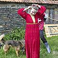 balade à cheval médiévale - Abbaye de Hambye (116)
