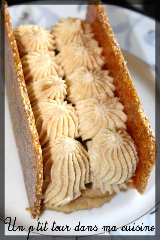 Pommes nougatine cacahuètes