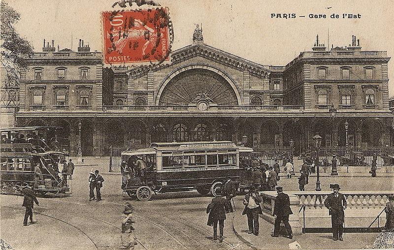 Gare de l'Est 1900