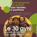 Journee de la non violence educative le 30 avril