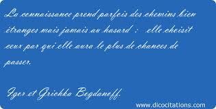 Citation Igor et Grichka Bogdanoff