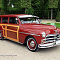 Plymouth woody suburban de 1950 (9ème Classic Gala de Schwetzingen 2011) 01