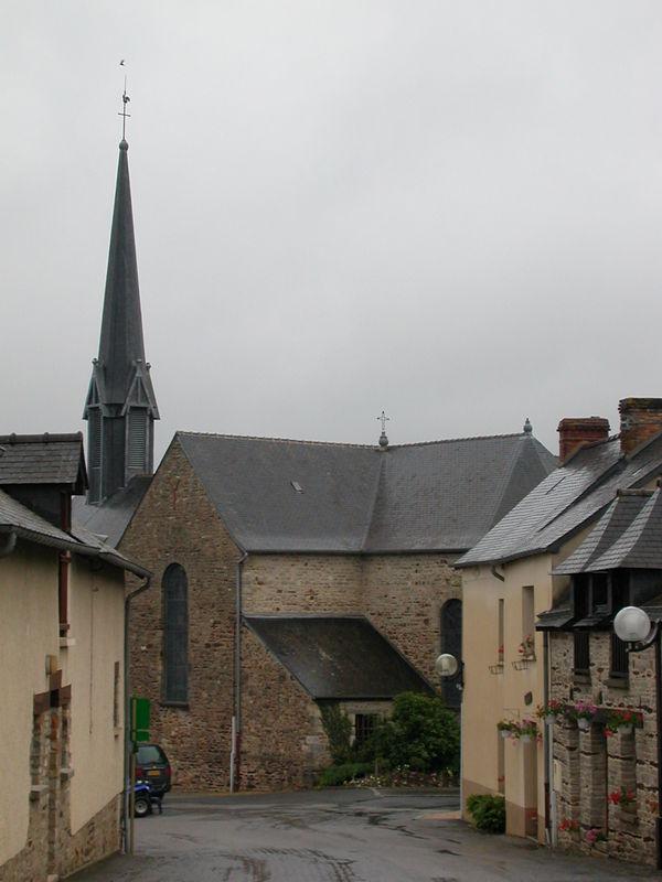 Crévin, église Saint Crépinien
