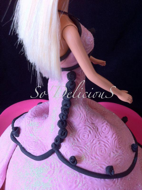 Barbie Roses noir