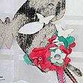 Masque Casnaval - Papillon - Katia Nesiris - Démonstratrice Stampin'up