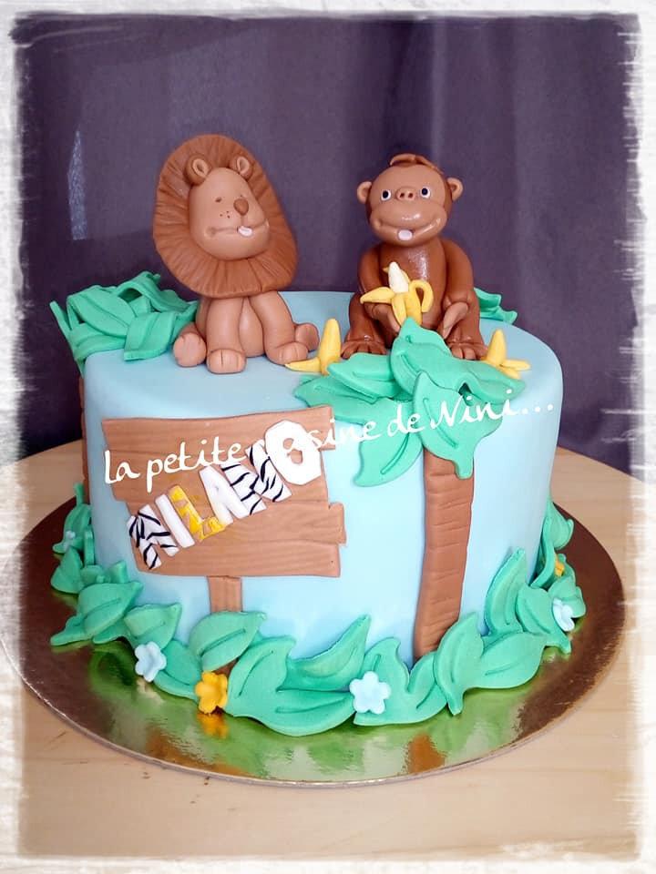 Gâteau Jungle