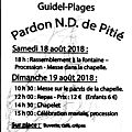 Pardon nd de pitié 2018
