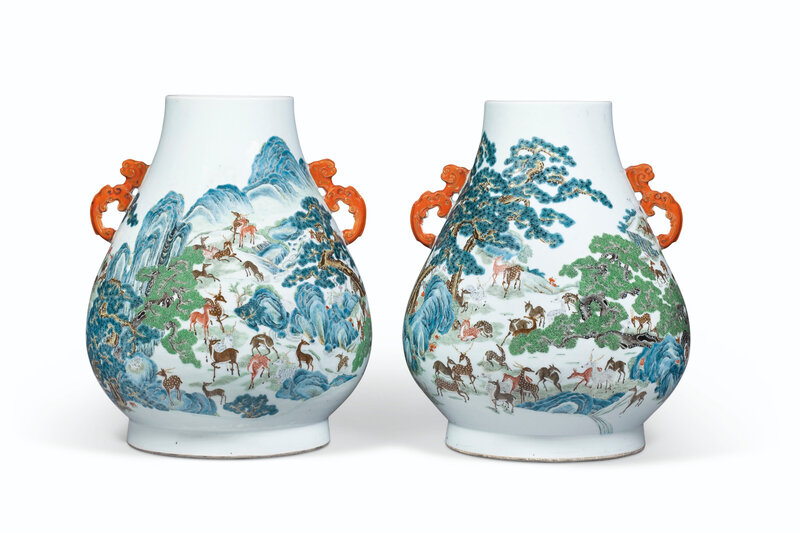2019_NYR_16950_1104_002(a_pair_of_famille_rose_hundred_deer_hu-form_vases_19th_century)