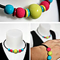 Collier multicolore - 15€ vendu