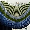 Mon châle audrey by tricot & stitch