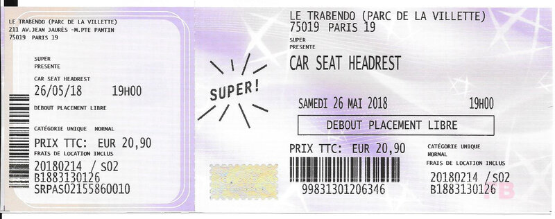 2018 05 26 Car Seat Headrest Trabendo Billet