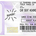 Car seat headrest - samedi 26 mai 2018 - trabendo (paris)