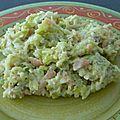 Risotto au saumon, poireau, safran et mascarpone au rice cooker