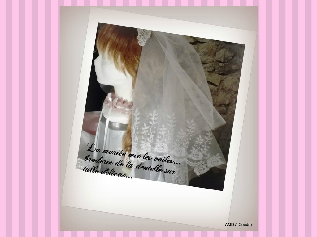 MARIAGE WEDDING ACCESSOIRES BRODERIE DENTELLE AMD A COUDRE (13)
