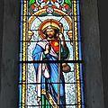 7_église Ste Radegonde de St Felix_vitrail St Jacques