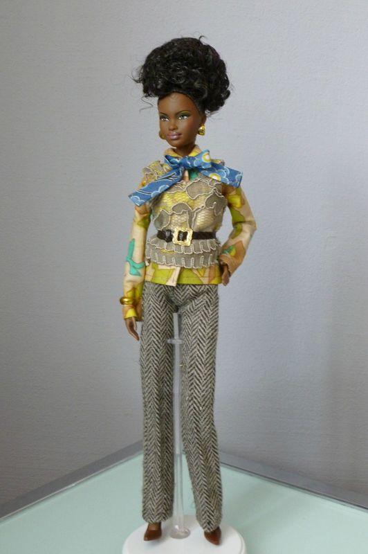 Barbie very british détail
