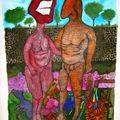 ATEK 2009 Les Nains de Jardin 70x100cm