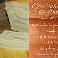 Croc'cake au gruyère