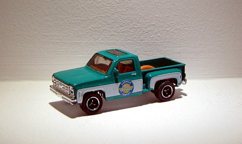 Chevrolet stepside pick-up de 1975 (Matchbox)