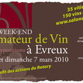 Week-end de l'amateur de vin (evreux)