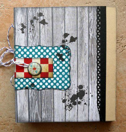 mini album Chronique scraplift Daude dos de couv