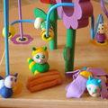 Sculptures petites bêtes rigolotes