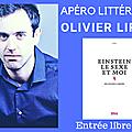 Olivier liron ce soir a la librairie passerelles !